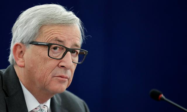 European Commission President Jean-Claude Juncker attends a debate on the priorities of the incoming Malta Presidency of the EU for the next six months at the European Parliament in Strasbourg, France, January 18, 2017. REUTERS/Christian Hartmann