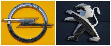 Mary Barra, la PDG de General Motors, a assuré qu'Opel resterait indépendant si un accord était conclu avec PSA, rapporte le mensuel allemand Manager Magazin, qui cite des sources proches des négociations. /Photo d'archives/REUTERS/Vincent Kessler