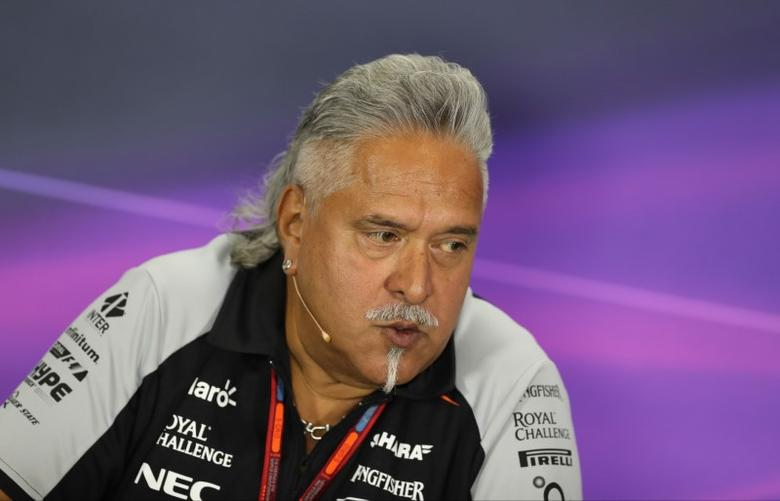 Britain Formula One - F1 - British Grand Prix 2016 - Silverstone, England - 8/7/16Vijay Mallya during the press conference. Action Images via Reuters / Matthew ChildsLivepic