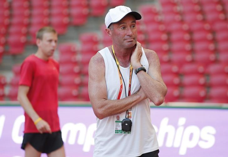 Farah coach denies allegations he broke doping rules