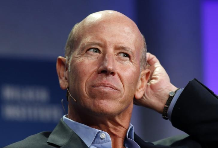 FILE PHOTO: Barry Sternlicht, Chairman and CEO of Starwood Capital Group, speaks at the 2014 Milken Institute Global Conference in Beverly Hills, California April 28, 2014. REUTERS/Lucy Nicholson