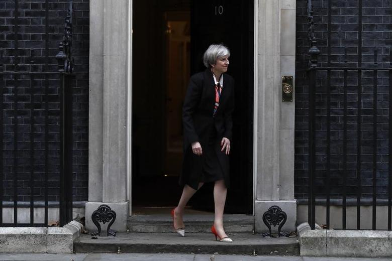 Britain's Prime Minister Theresa May  n London, Britain, February 23, 2017.   REUTERS/Stefan Wermuth