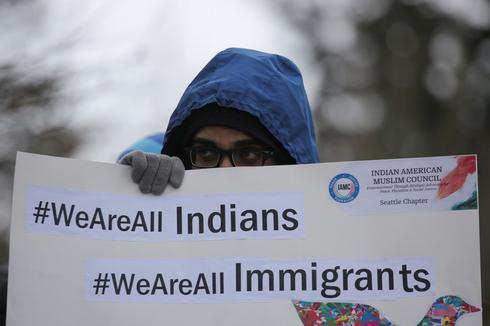 Vigil for Indian killed in Kansas