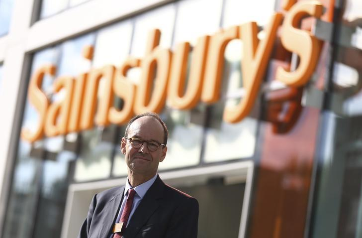 Sainsbury's chief executive Mike Coupe poses for a portrait at one of the company's stores in London, Britain October 11, 2016. REUTERS/Neil Hall