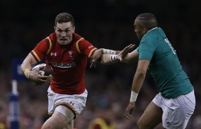 Britain Rugby Union - Wales v Ireland - Six Nations Championship - Principality Stadium, Cardiff - 10/3/17 Wales' George North in action with Ireland's Simon Zebo  Action Images via Reuters / Andrew Boyers Livepic