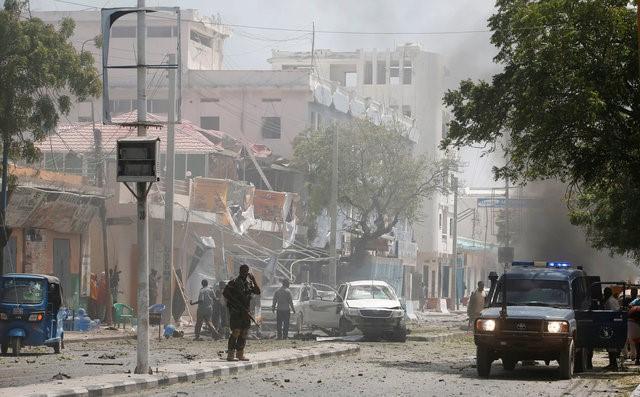 Image result for Car bomb kills 13 in Somali capital: police, medics
