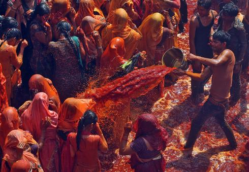 The colors of Holi