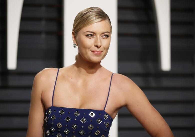 89th Academy Awards - Oscars Vanity Fair Party - Beverly Hills, California, U.S. - 26/02/17 – Tennis player Maria Sharapova. REUTERS/Danny Moloshok