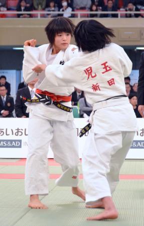 柔道女子52キロ級、阿部が優勝