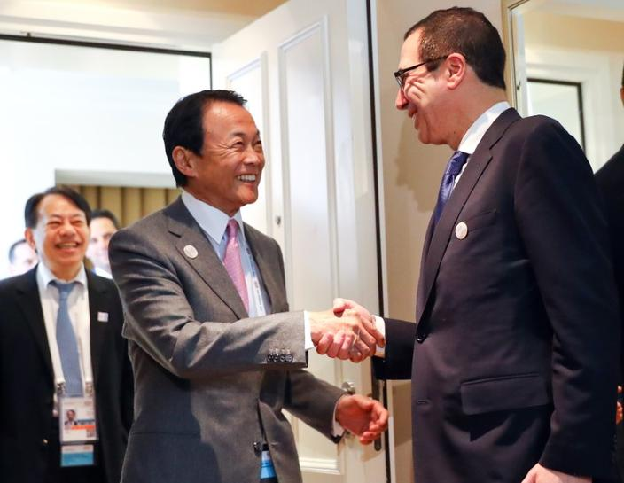 Japan Aso - think G20 countries understand free trade importance