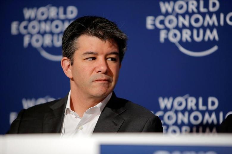 Uber CEO Travis Kalanick attends the summer World Economic Forum in Tianjin, China, June 26, 2016. REUTERS/Shu Zhang