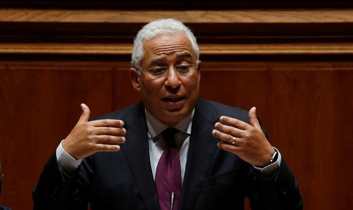 Portugal's Prime Minister Antonio Costa speaks during a biweekly debate at the parliament in Lisbon, Portugal, March 22, 2017.   REUTERS/Rafael Marchante/Files