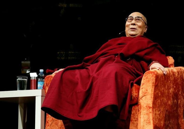 FILE PHOTO:  Dalai Lama is seen  in Milan, Italy October 20, 2016. REUTERS/Stefano Rellandini/File Photo