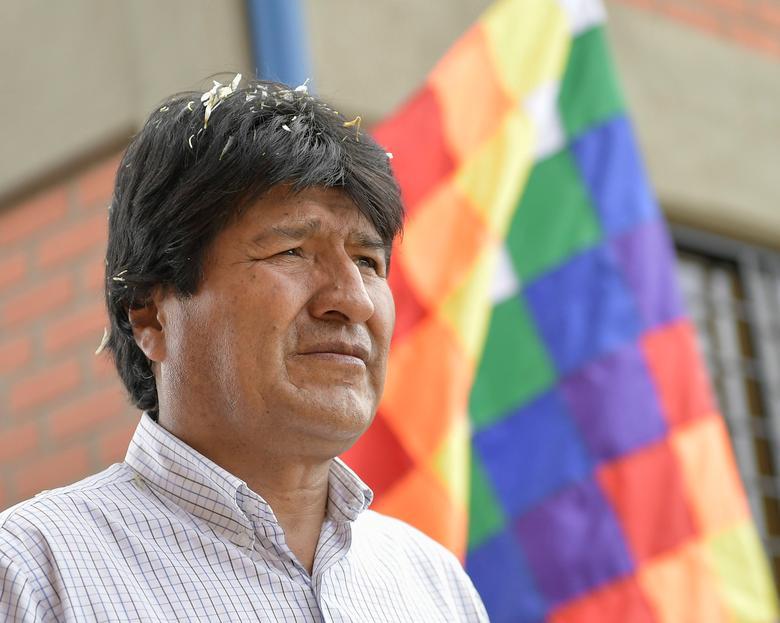 Bolivia's President Evo Morales in Puerto Villarroel, Cochabamba, Bolivia, March 29, 2017. Freddy Zarco/Courtesy of Bolivian Presidency/Handout via REUTERS