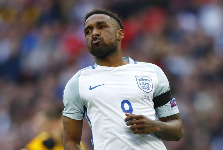 Britain Football Soccer - England v Lithuania - 2018 World Cup Qualifying European Zone - Group F - Wembley Stadium, London, England - 26/3/17 England's Jermain Defoe Reuters / Eddie Keogh Livepic