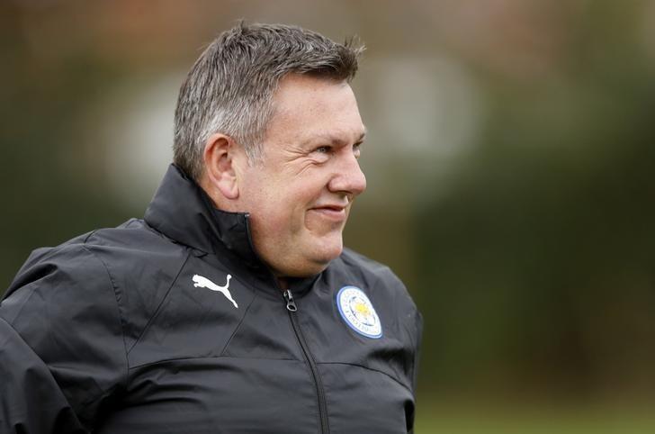 Britain Football Soccer - Leicester City Training - Leicester City Training Ground, Leicester, England - 17/4/17 Leicester City manager Craig Shakespeare during training Action Images via Reuters / Carl Recine Livepic/files