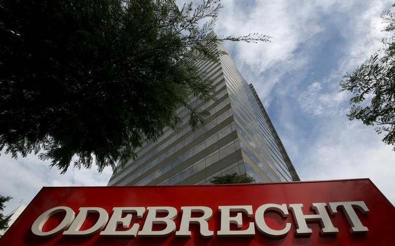 The headquarters of Odebrecht SA is pictured in Sao Paulo, Brazil, March 22, 2016.  REUTERS/Paulo Whitaker/File photo