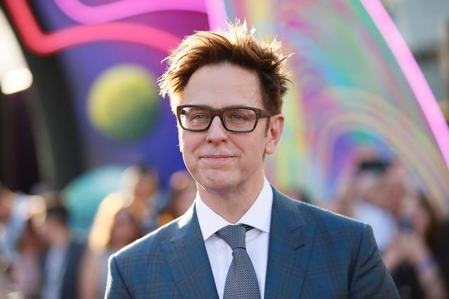 Writer and director James Gunn poses at the world premiere of Marvel Studios' ''Guardians of the Galaxy Vol. 2.'' in Hollywood, California, U.S. Wednesday, April 19, 2017 REUTERS/Danny Moloshok