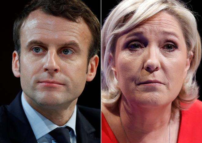 France's Macron appears set for runoff with Le Pen thumbnail