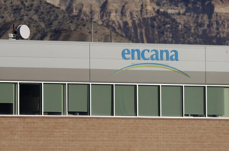 FILE PHOTO: Encana offices is pictured in Parachute, Colorado, U.S. on December 10, 2014.   REUTERS/Jim Urquhart/File Photo
