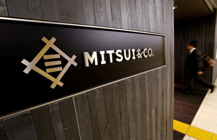 FILE PHOTO: The logo of the Japanese trading company Mitsui & Co. is seen in Tokyo, Japan, May 10, 2016. REUTERS/Toru Hanai/File Photo