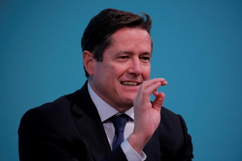 FILE PHOTO: Chief executive officer of Barclays, Jes Staley, takes part in the Yahoo Finance All Markets Summit in New York, U.S., February 8, 2017. REUTERS/Lucas Jackson/File Photo