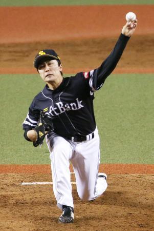 ソフトB、和田の左肘手術を検討