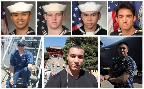 U.S. Navy identifies victims of ship collision