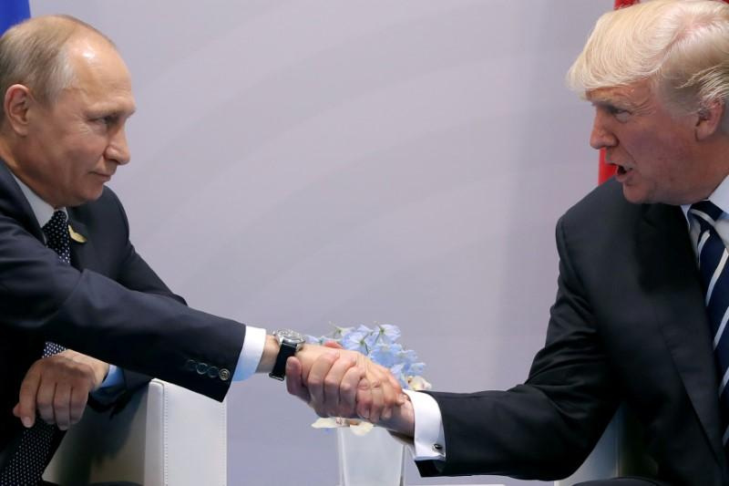 Trump, Putin had previously undisclosed visit at G20 dinner
