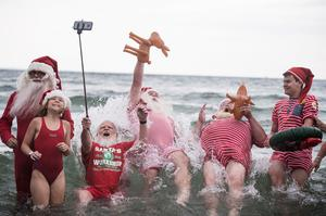 Santa's summer vacation