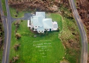 St. Croix damage from above