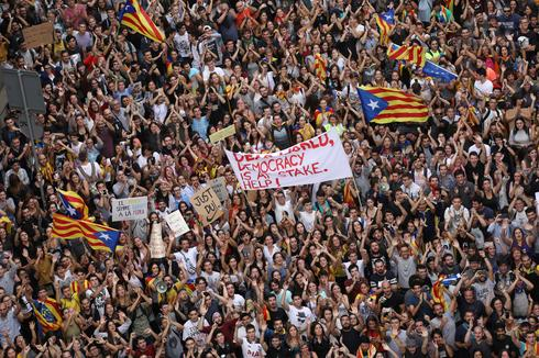 Catalonia protests after violent secession vote