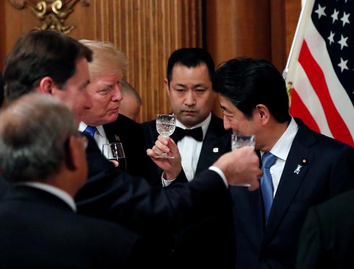 Trump says Japan would shoot N.Korean missiles 'out of sky' if it bought U.S. weaponry