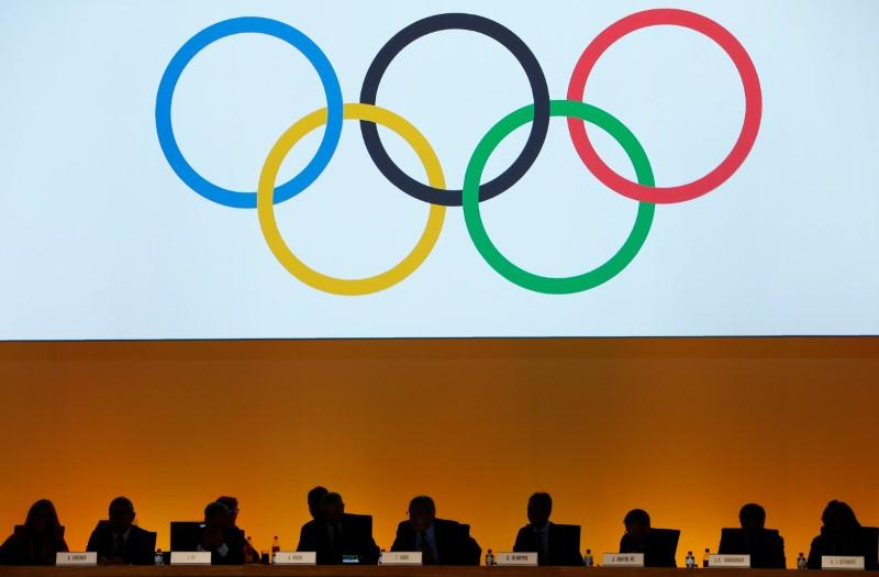 International Olympic Committee (IOC) delegates are seen during the IOC extraordinary session in Lausanne, Switzerland July 11, 2017. Pierre Albouy