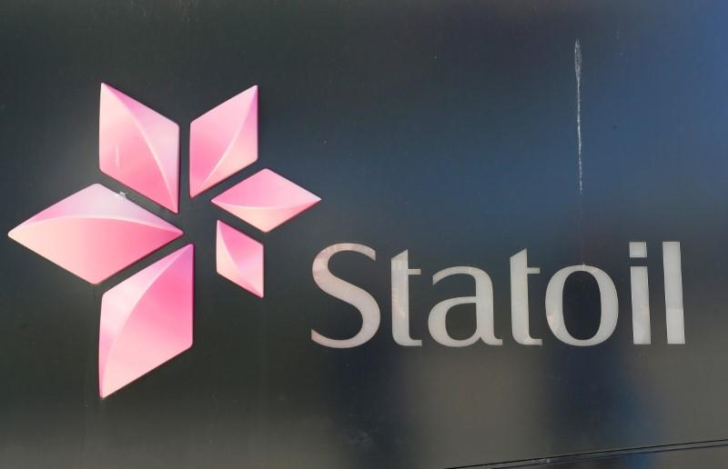 Norwegian oil company's Statoil logo is seen at their headquarters in Fornebu, Norway, June 1, 2017. Ints Kalnins