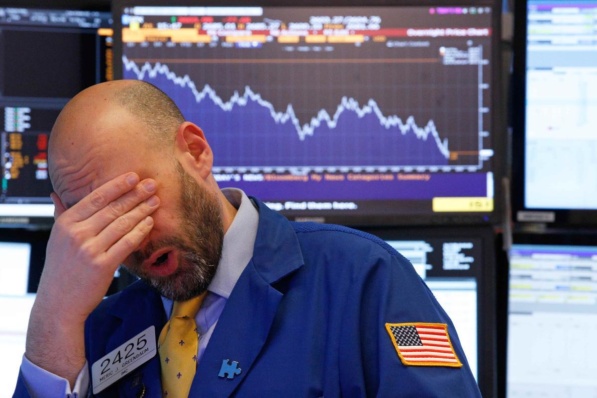Wall Street plummets; S&P, Dow confirm correction