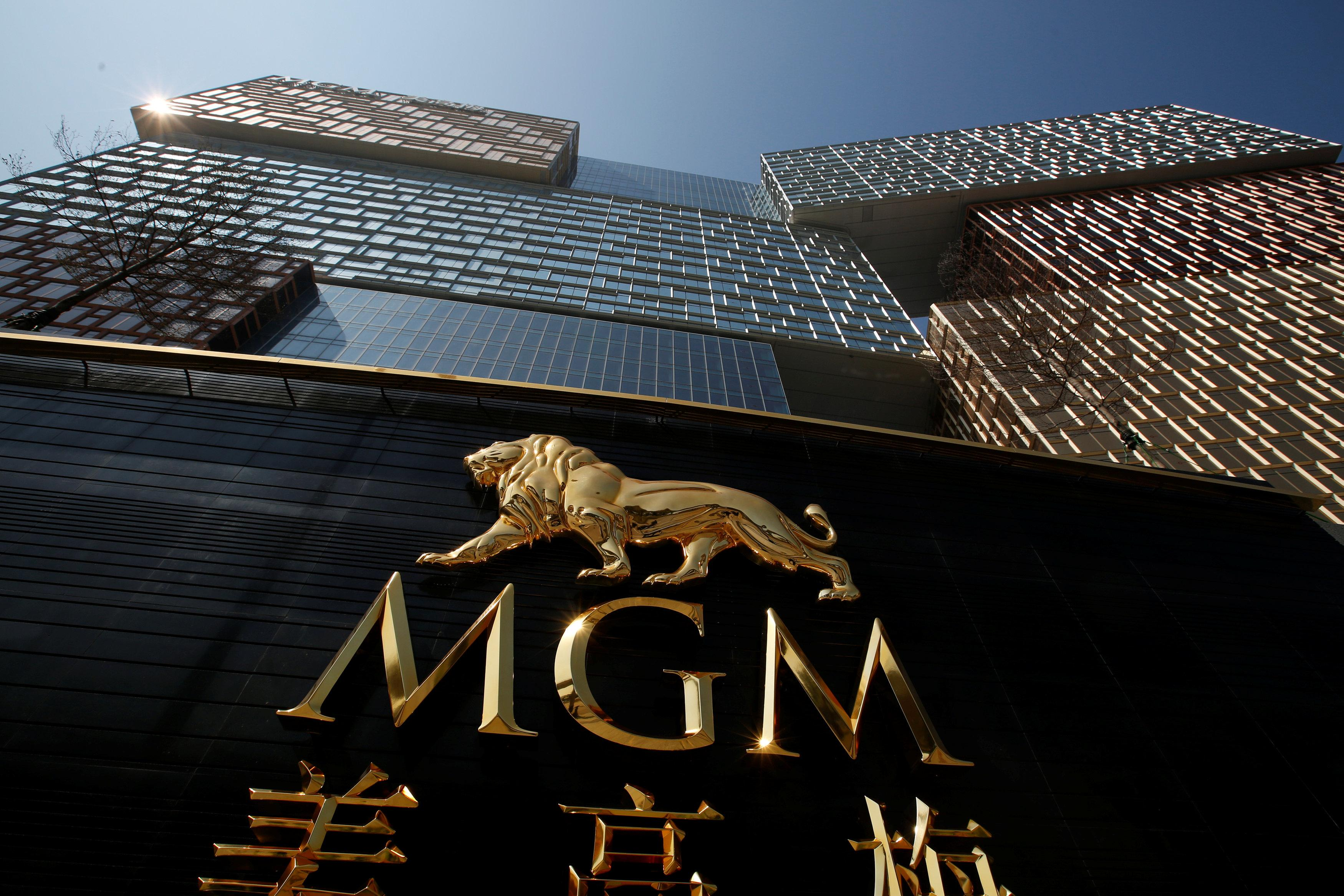 An exterior view of MGM Cotai in Macau, China February 13, 2018. Bobby Yip