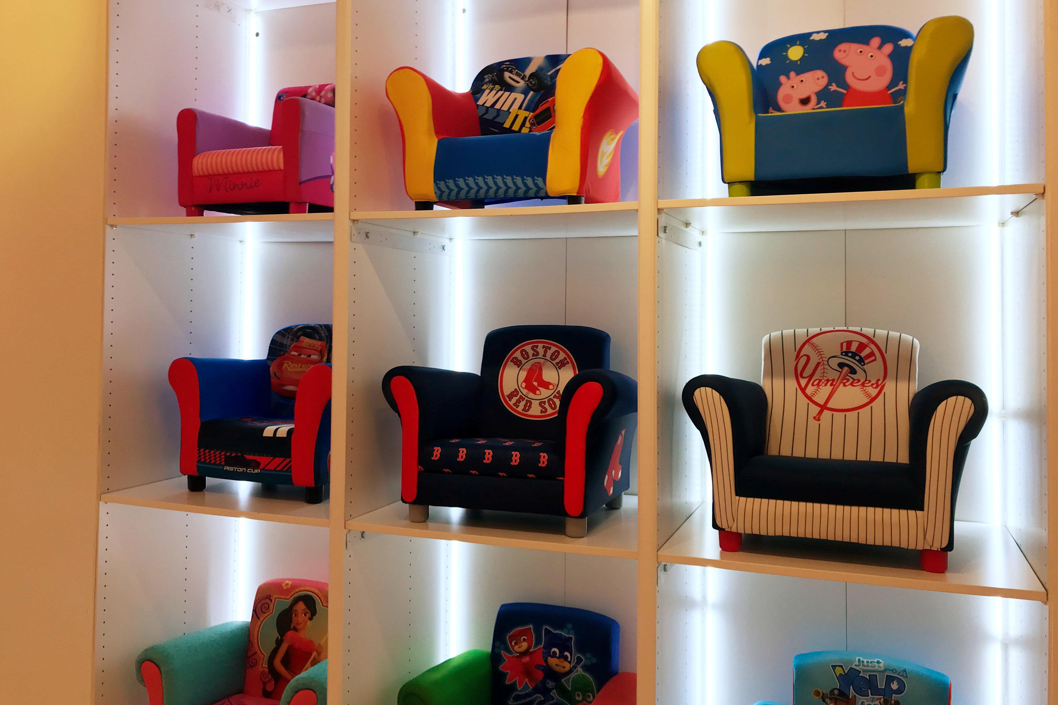 Exhausted toys r us suppliers weigh options as huge retailer childrens furniture are on display at one of toys r us biggest vendors buycottarizona Images