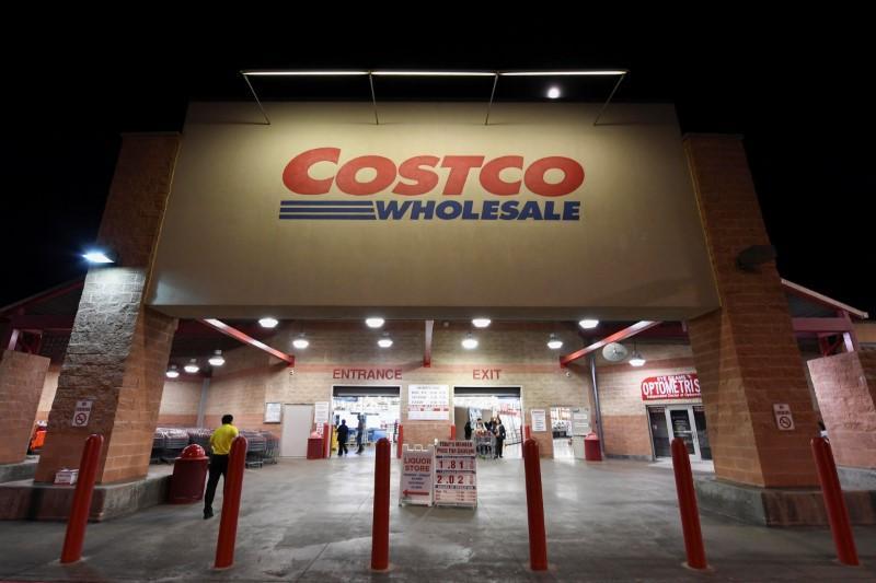 Warehouse club operator costco quarterly sales top estimates a costco wholesale retail club is photographed in austin texas us on december 12 altavistaventures Images