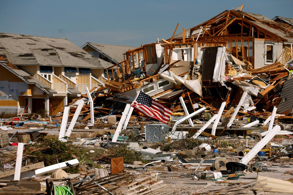 Hurricane death toll rises to 17 as search goes on in Florida