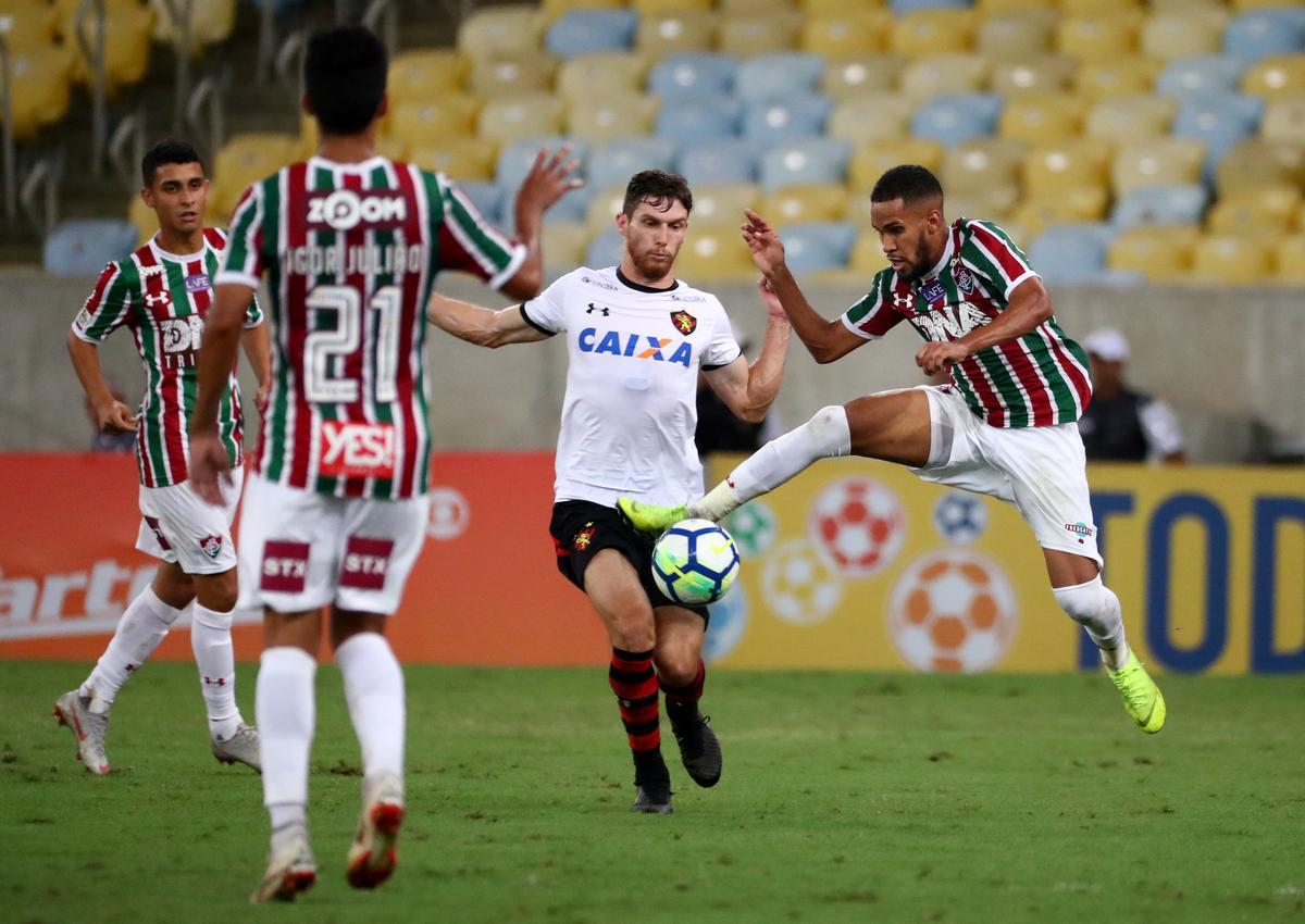 Soccer: Sport grab vital point in battle to avoid drop in Brazil