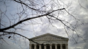 A general view of the U.S. Supreme Court building in Washington, U.S., January 22, 2018. REUTERS/Carlos Barria