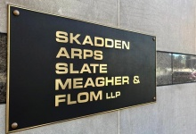 The Washington offices of international law firm Skadden Arps Slate Meagher & Flom LLP are seen in downtown Washington, U.S., February 20, 2018. REUTERS/Jonathan Ernst