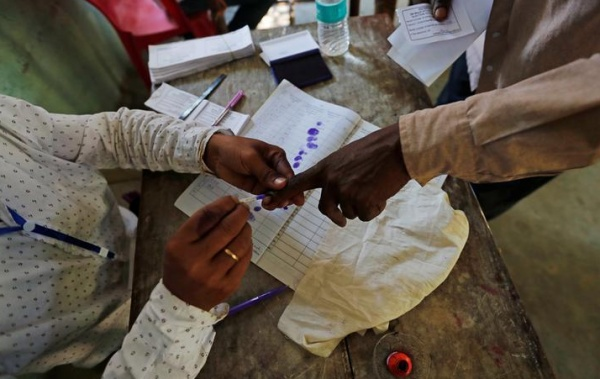 Indians vote in the world's largest election