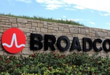 FILE PHOTO: A sign to the campus offices of chip maker Broadcom LtdREUTERS/Mike Blake/File Phot0