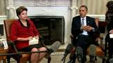 Bruises as U.S., Brazil leaders tango