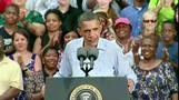 Obama attacks Romney's work at Bain Capital