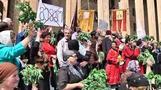 Georgia gay rally attacked