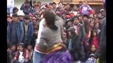 Peruvians fight in traditional Christmas ritual