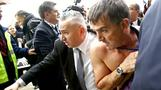 Air France jobs strike turns ugly